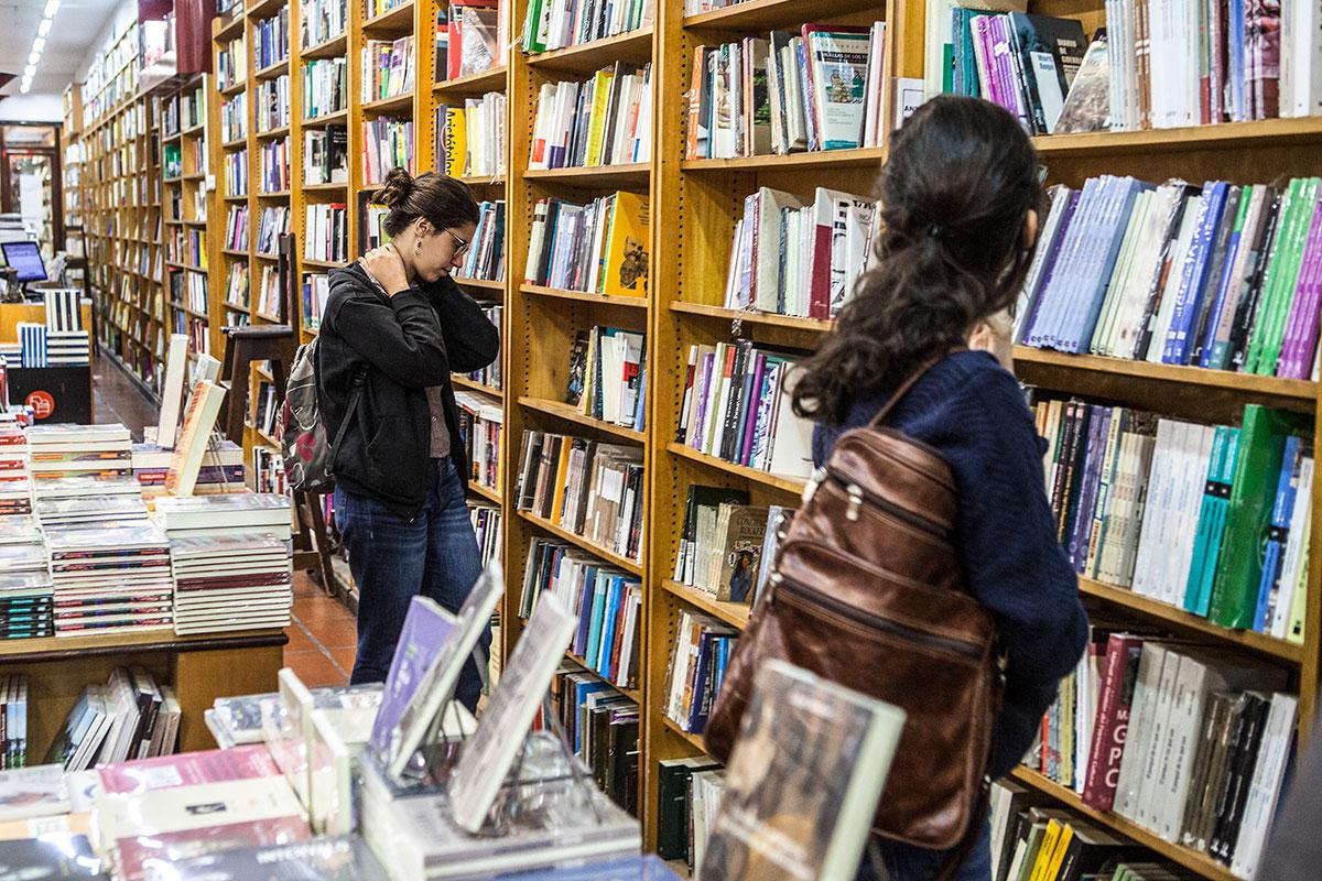 Libreria, Libros